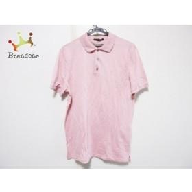 ルイヴィトン LOUIS VUITTON 半袖ポロシャツ サイズL メンズ ピンク  値下げ 20190829