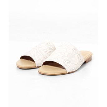【GRACE CONTINENTAL:シューズ】Flat Sandal
