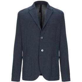 《セール開催中》HARRIS WHARF LONDON メンズ テーラードジャケット ブルー 50 コットン 100%