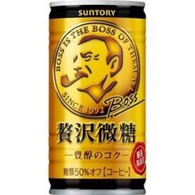 ボス 贅沢微糖 (185g*30本入)