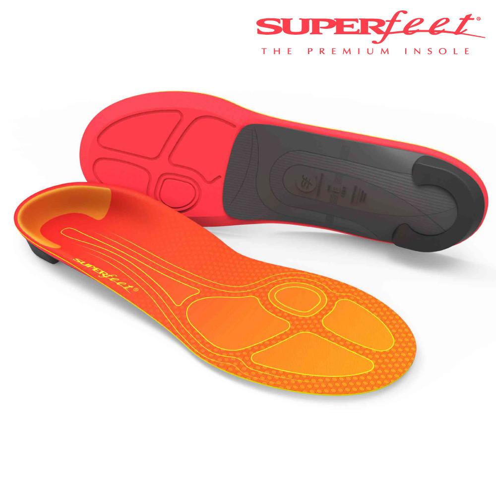 美國superfeet碳纖維馬拉松路跑鞋墊(橘色舒緩款)