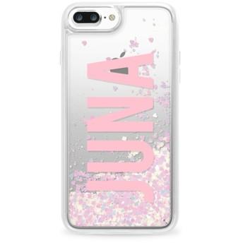 CASETiFY iPhone 8 Plus ケース 名前入りキラキラ ケース イニシャルグリッターケース ケース 名前 ケース 名前