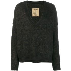 Uma Wang デコンストラクテッド セーター - ブラック