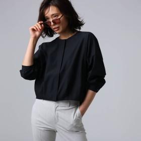 アンタイトル UNTITLED [L]【洗える】ライトタンブラークロスシャツジャケット (ブラック)