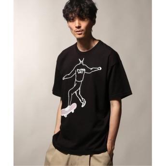 ジャーナルスタンダード PUSHERS ONLY/プッシャーズオンリー INSIDE PRINT Tシャツ1 メンズ ブラック M 【JOURNAL STANDARD】