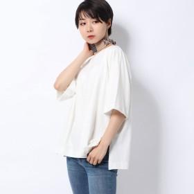 レトロガール RETRO GIRL スカーフ Set Tee (ホワイト)