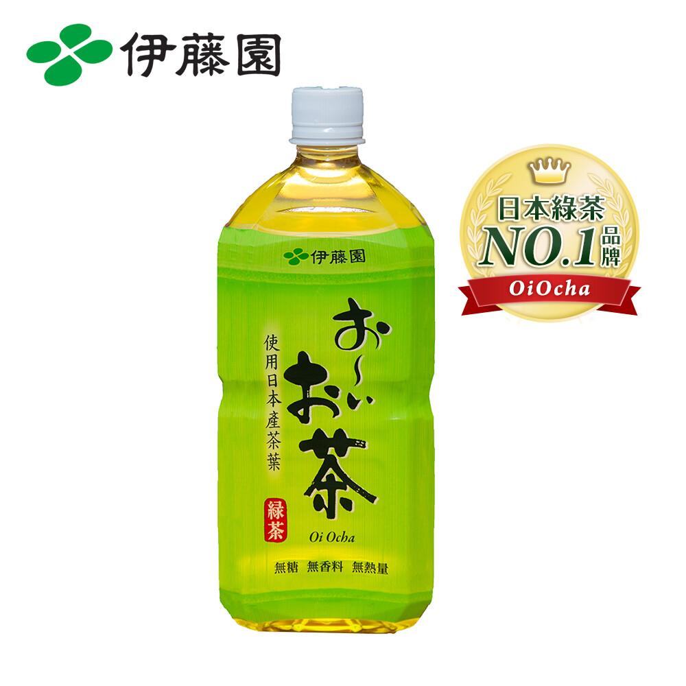 伊藤園 oiocha 綠茶pet975ml*12入/箱購