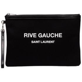 Saint Laurent リヴ ゴーシュ クラッチバッグ - ブラック