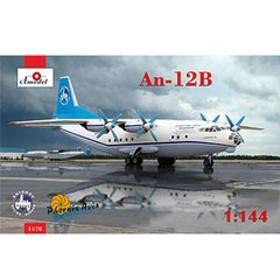 Aモデル 1/144 アントノフAn-12Bクブ四発旅客機【AM1470】 プラモデル AM1470 アントノフAn-12Bクブシハツリョカクキ 【返品種別B】