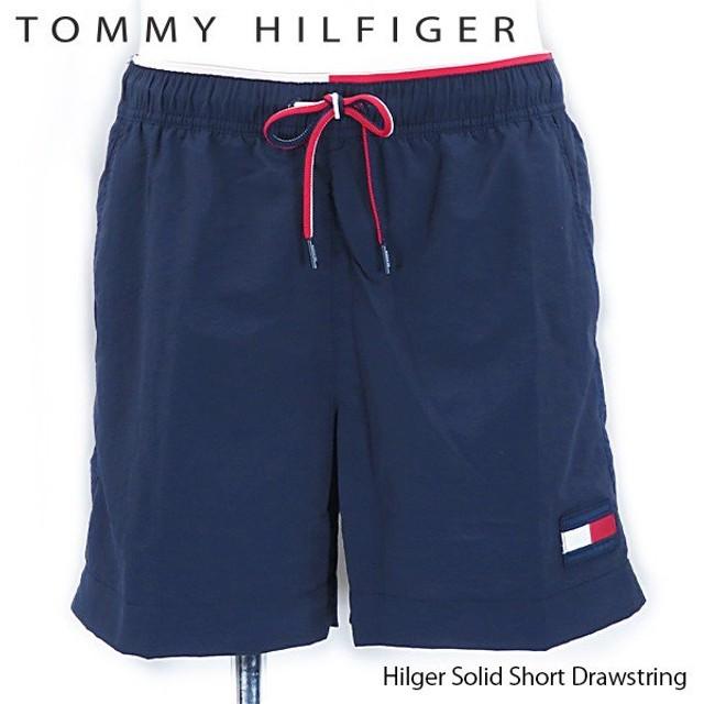 《返品交換不可》【2019 SS】『TOMMY HILFIGER-トミーヒルフィガー-』Hilger Solid Short Drawstring 〔UM0UM01120〕