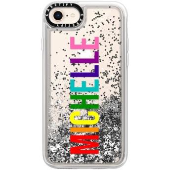CASETiFY iPhone 8 グリッター ケース 動くたびにキラキラ輝く