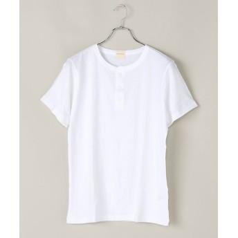 <パラファナリア/PARAPHERNALIA> ヘンリーネックTシャツ(半袖)(0118388102) 90ホワイト 【三越・伊勢丹/公式】