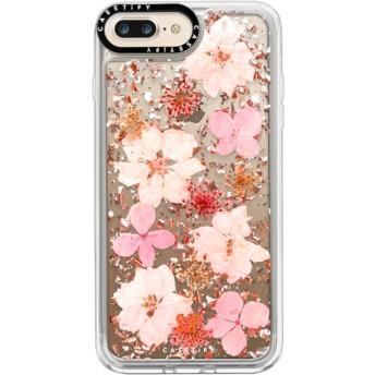CASETiFY iPhone 7 Plus ケース iphone iPhone 7 Plus ケース 押し花 iPhone ケース プレスドフラワー iPhone カバー プレス