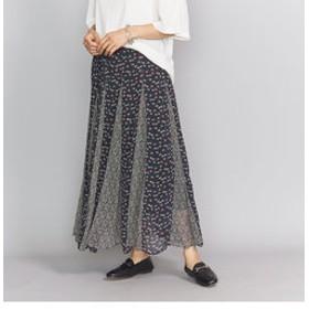 【BEAUTY & YOUTH UNITED ARROWS:スカート】<ne Quittez pas>フラワーミックススカート