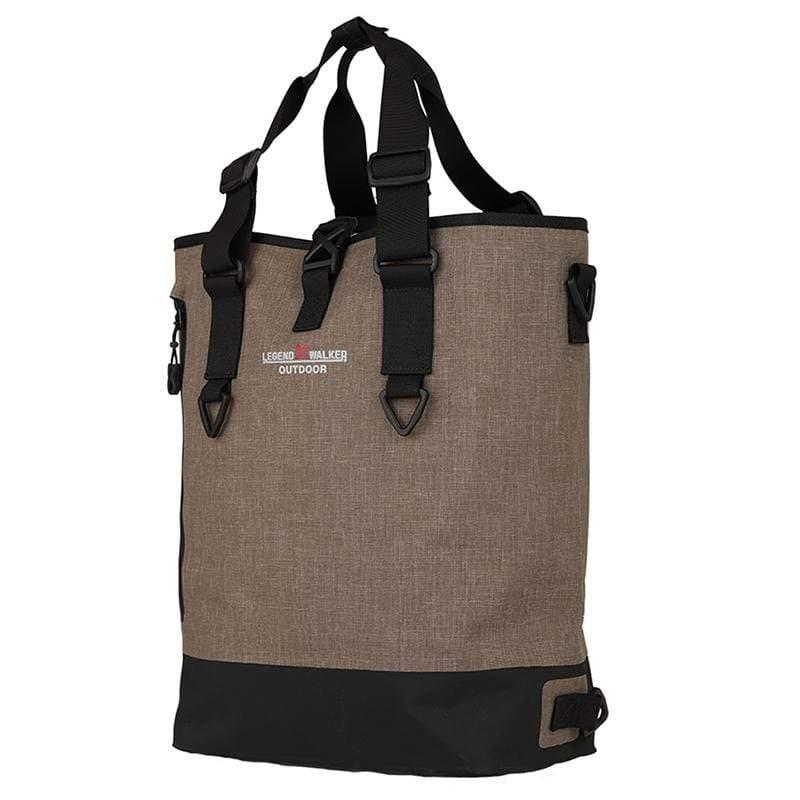 防潑水三用包 - 棕色 9502-40-BE