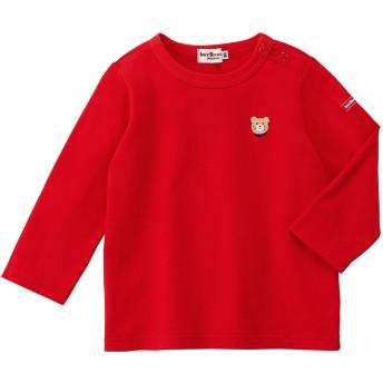 ミキハウス 長袖Tシャツ 赤