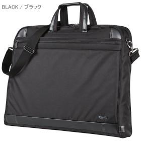 カバンのセレクション エース ガーメントバッグ メンズ 軽量 出張 ハンガー2本 A3 ACE 52569 メンズ ブラック 在庫 【Bag & Luggage SELECTION】