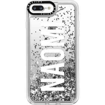 CASETiFY iPhone 7 Plus ケース 名前入りキラキラ ケース イニシャルグリッターケース ケース 名前 ケース 名前