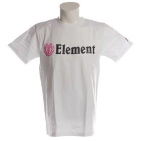 エレメント HORIZONTAL 半袖Tシャツ AI021200 WHT (Men's)
