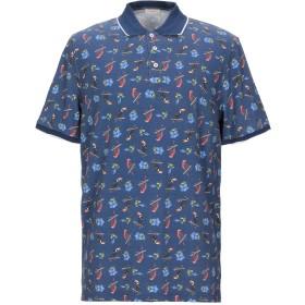 《期間限定セール開催中!》ALTEA メンズ ポロシャツ ブルー L/XL コットン 100%