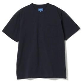 (BEAMS MEN/ビームス メン)BEAMS/ハイゲージ ポケット Tシャツ/メンズ NAVY
