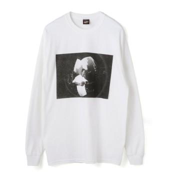 RAP TEES / BIG L ロングスリーブTシャツ ホワイト/MEDIUM(エストネーション)◆メンズ Tシャツ/カットソー