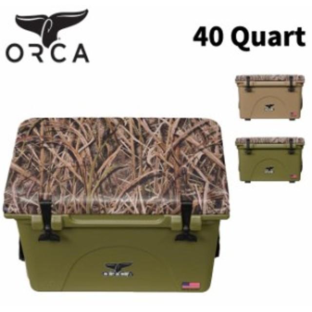 クーラーボックス ORCA オルカ  Coolers 40 Quart MOSSY OAK カモ CAMOキャンプ アウトドア