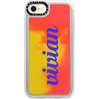 CASETiFY iPhone 8 ネオンサンドケース