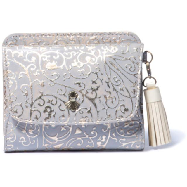 SHiME アラベスク BOX小銭入れ付き折り財布