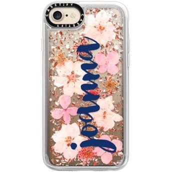 CASETiFY iPhone 7 ケース iphone iPhone 7 ケース 押し花 iPhone ケース プレスドフラワー iPhone カバー プレスフラワ