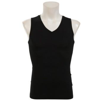 販売主:スポーツオーソリティ エスエーギア/メンズ/ストレッチ ノースリーブインナーシャツ メンズ ブラック O 【SPORTS AUTHORITY】