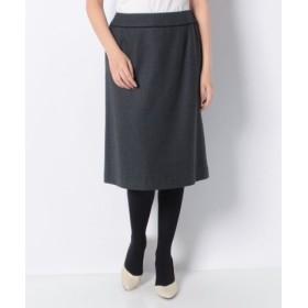 (LAPINE BLANCHE/ラピーヌ ブランシュ)スーパーサキソニー スカート/レディース グレー 送料無料
