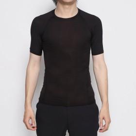 イグニオ IGNIO メンズ 長袖インナーシャツ Crew Neck S/S T-Shirt (Rib) クルーネック半袖(衿リブ) IG-9C19879UT