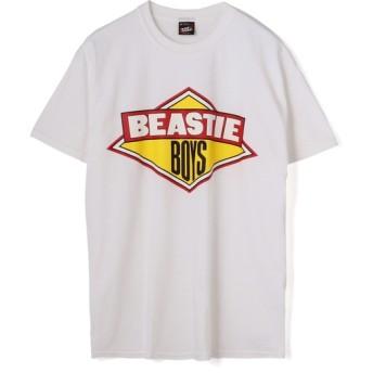 RAP TEES / BEASTIE BOYS プリントTシャツ ホワイト/LARGE(エストネーション)◆メンズ Tシャツ/カットソー