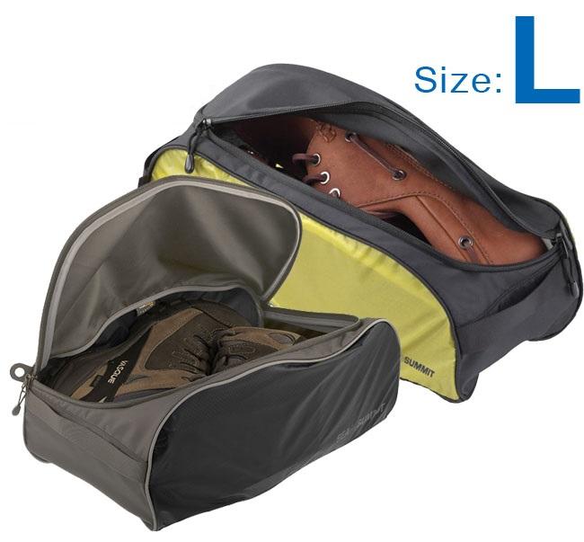 【【蘋果戶外】】Sea to summit ATLSBL 旅行鞋袋 『L/84g』 SHOE BAGS 旅行包.打理包 可收納平底鞋.低筒鞋 兩色 STSATLSBL