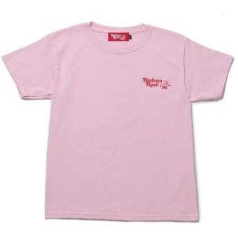 ボンジュールガール/【BODEGA ROSE】Betty Rose BG DTG T-Shirt/ピンク/M