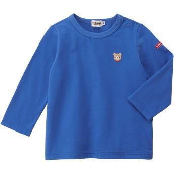 ミキハウス 長袖Tシャツ 青