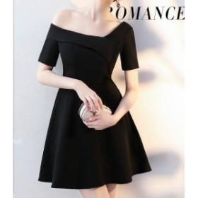 パーティードレス 結婚式 二次会 ワンピース 結婚式 お呼ばれ ドレス 20代 30代 40代 結婚式 パーティー ドレス 袖あり 体型カバー
