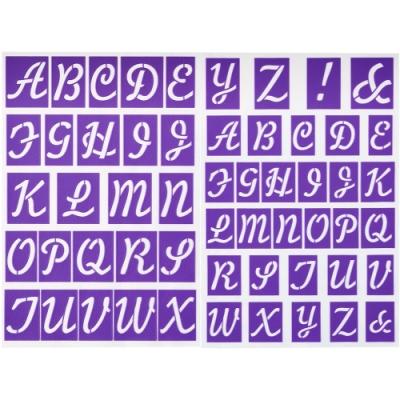 《Wilton》字母蛋糕貼紙裝飾片組