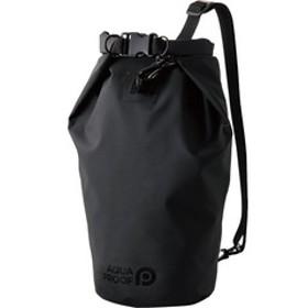 エレコム 完全 防水 ドライ バッグ 10L ショルダー IP45 ブラック(黒) P-WPBD10BK (1個)