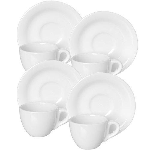 《EXCELSA》Division陶製咖啡杯碟組4入(60ml)