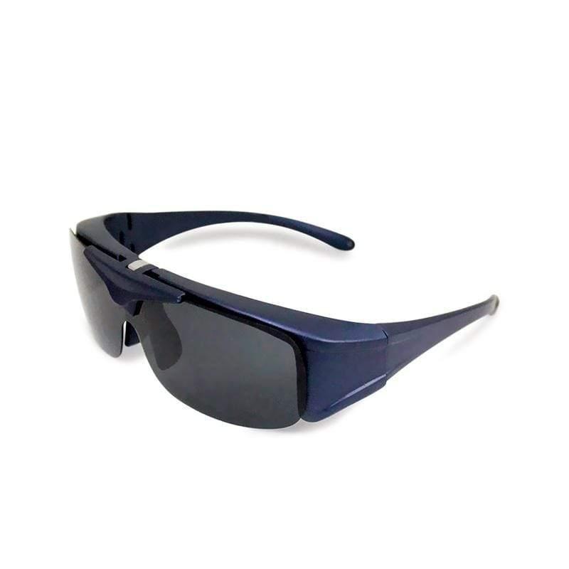 全罩式│外掛式│多功能掀蓋式偏光太陽眼鏡