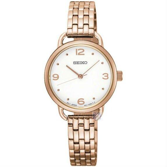 Seiko 精工錶 CS-B 6N01-00C0K(SUR672P1) 都市時尚女錶 / 白面 26mm