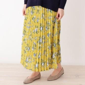 [マルイ]【セール】Lスカート(【WEB限定サイズあり】花柄プリーツロングスカート)/グローブ(grove)