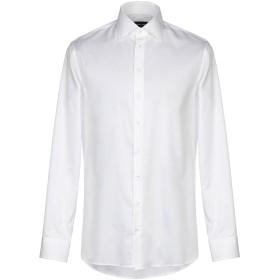 《期間限定 セール開催中》GIORGIO ARMANI メンズ シャツ ホワイト 40 コットン 100%