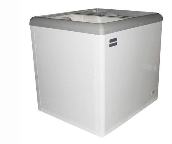 Haier 海爾 250L 玻璃推拉冷凍櫃 134a 環保冷媒劑  HSD-258
