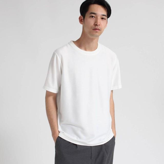 ティーケー タケオ キクチ tk. TAKEO KIKUCHI ライトツイル半袖プルオーバー (ホワイト)