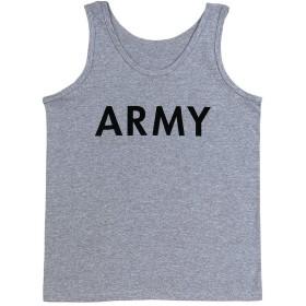 ロスコ タンクトップ グレー M US ARMY