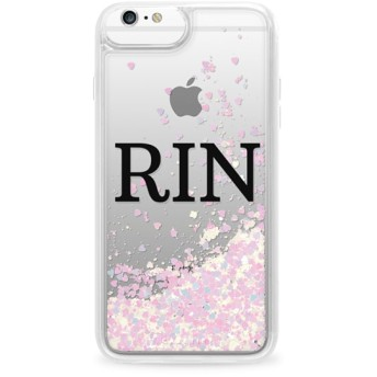 CASETiFY iPhone 6s Plus ケース 名前入りキラキラ ケース イニシャルグリッターケース ケース 名前 ケース 名前