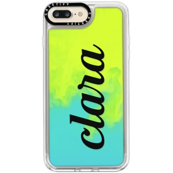 CASETiFY iPhone 7 Plus ネオンサンドケース